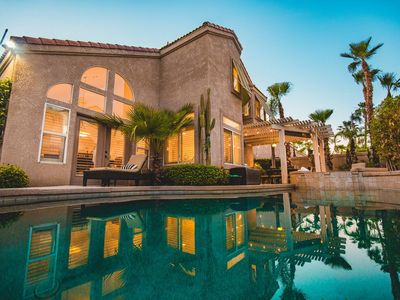 Photo for Cool Desert Escape w/ Pool & Spa   10 Beds