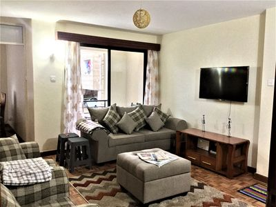 Photo for NEW listing! 2BD clean cozy with Gym Riara Road Nairobi close to The Junction