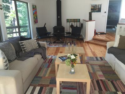 Photo for Light-Filled Wellfleet Contemporary w/ Huge Deck & Air Conditioning!