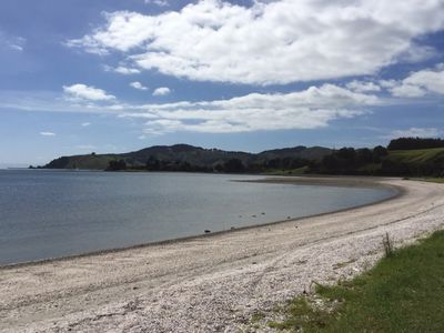 Photo for Stunning beachfront location - studio situated in private, quiet garden setting.