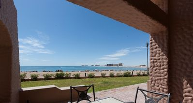 Photo for OCEAN FRONT UNIT CLOSE TO TOWN 2 BEDROOM AT MARINA PINACATE 105 (first floor)