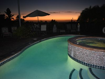 Photo for Private Executive Huge Acre + Estate! Pool Hot Tub, Avacodo, Coffee & Fruit Tree