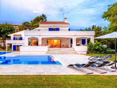 Photo for Large Villa With A Private Pool And Tennis Court In The Heart Of Golf Valley