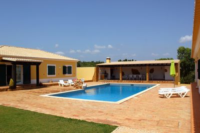 Pool area - where big families & friends get together!