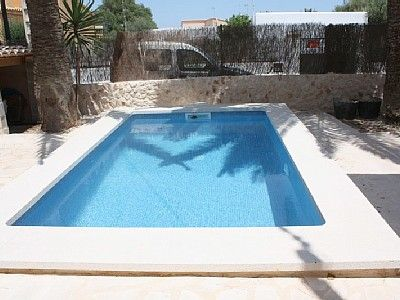 Photo for Nice house for 6 people near the beach with distant sea views, pool, WiFi, fireplace