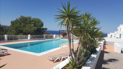 Photo for House with views and pool. 1st line at 250m from the beach