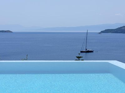 Photo for A Unique and Luxurious Villa in Skiathos Town