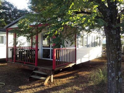 Photo for Camping l'Olivier *** - 3 room mobile home 3 people