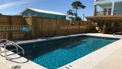 Photo for Amazing Newly Constructed Beach Escape w/Pool & Cabanas. Close to Hangout Fest!