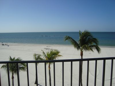 Photo for ON BEACH Condo on White Sands of Fort Myers Beach 28 Day Minimum Rental
