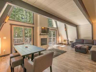 Photo for Fun, Peaceful, and Modern Tahoe Donner Cabin