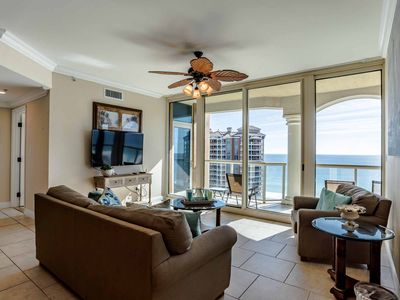 Photo for Beach Condo with Stunning Views of the Beach. Large Private Balcony with Gas Grill. Tons of Resort Amenities!