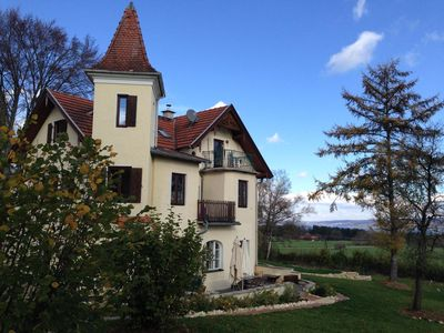 Photo for Cozy attic apartment overlooking Ammersee and Alps