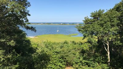 Photo for Spacious Waterfront House with Private Beach, Spectacular Lake & Ocean Views