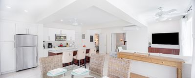 2 BR 2 Bath Suite, Sleeps 4, right on the beach with private pool and SUV