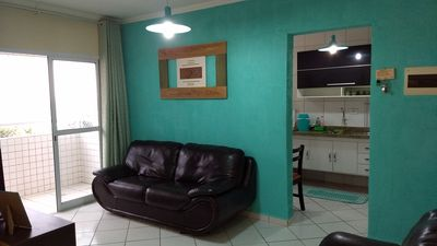 Photo for 2 dorms with suite !!! APT with full ocean view !! Whats Lu (11) 96145-6132