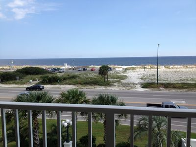 Photo for GREAT RATES/ FULL BEACH & POOL VIEW//Wifi/Nature Trail/ OPEN June 30 - July4