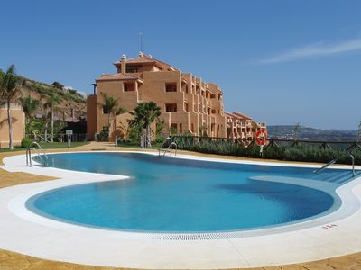 Photo for Quiet hillside location, but only 5 mins by car from La Cala &  gorgeous beach!