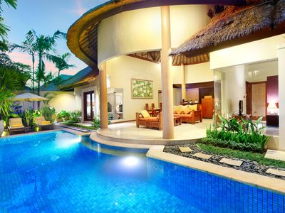 Photo for One Bedroom villa in Seminyak, with private pool, 15 minutes walk to the Beach