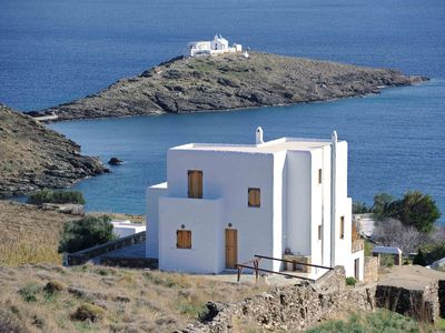 Photo for Villa Sunflower is a two level villa in Kythno... - Three Bedroom Villa, Sleeps 8