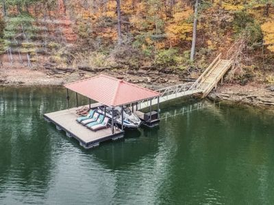 Photo for Lake View -Private Dock in No Wake Zone - Lake Allatoona