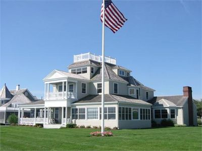 Photo for Oceanfront Spectacular Historic Home on Minot Beach