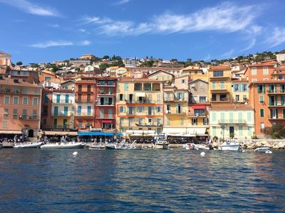 Photo for Villefranche centre, 3 bed waterfront, very large, quiet, No stairs ,
