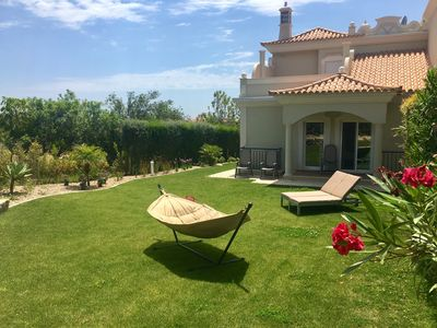 Photo for Luxury Villa w/ private garden & pool -  great view, quiet and close to beach