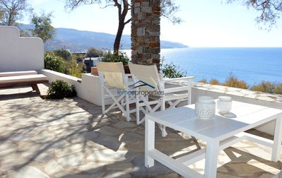 Photo for Cozy maisonette very close to the sea in the area of Koudouros