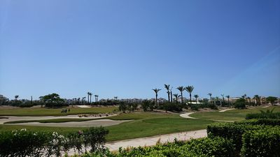 Photo for Ground Floor Apartment Rental In La Torre Golf Resort With Pool