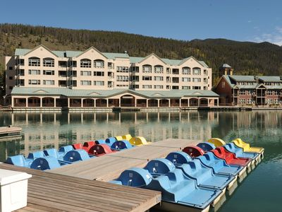 Photo for Condo Near the Lake with a Balcony + Fireplace | Awesome Location + Pool Access!