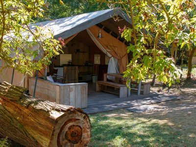 Photo for Luxury tents in the beautiful region of Occitanie - near Carcassonn