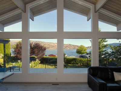 Photo for Across From The Beach On Okanagan Lake, Rental suited to Family Or Couples