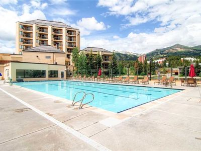 Photo for Located on Main Street with an outdoor pool & hot tubs, hiking trails close by