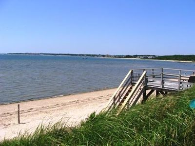 Photo for Beautiful Beachfront Home on Lewis Bay!