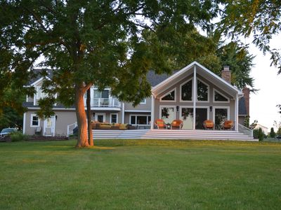 Photo for Beautiful Cayuga Lake Front Home
