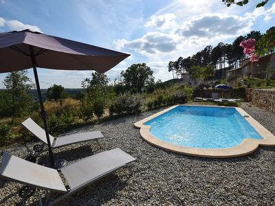 Photo for Beautifully located holiday villa with private swimming pool and lovely view!