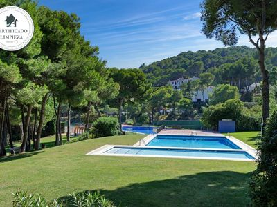 Photo for CALA NOSTRA -PUIG-attached house with sea view and pool-Tamariu