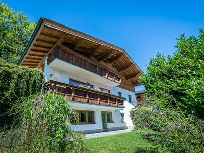 Photo for Tyrolean chalet apartment in a central location fantastic views infrared sauna