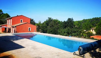 Photo for EXCEPTIONAL site: SPACIOUS VILLA 8 BEDS, SWIMMING POOL 15x5M, SAUNA