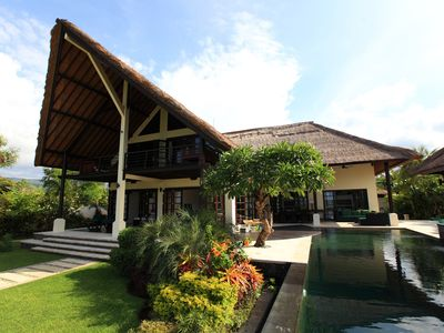 Photo for Villa Baruna - Bali Beach Villa with sea view and free WIFI