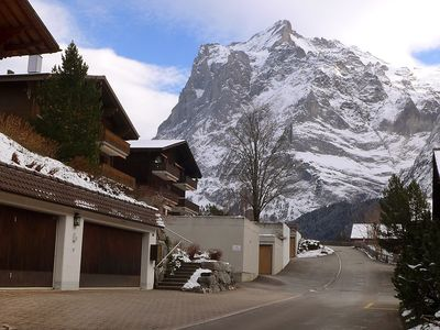Photo for Apartment in the center of Grindelwald with Parking, Internet, Washing machine, Balcony (304843)