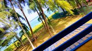 Beachfront house/Campement Pieds dans l'eau,Family friendly,free high-speed wifi