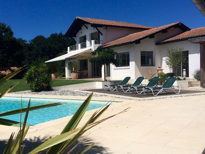 Photo for Luxury Villa - 5 Bedrooms - Pool - Between Biarritz and Guéthary