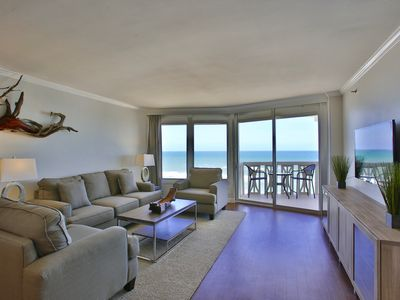 Photo for ~Direct Oceanfront~ 7th Floor Luxury & Modern Condo Great for Couples & Families
