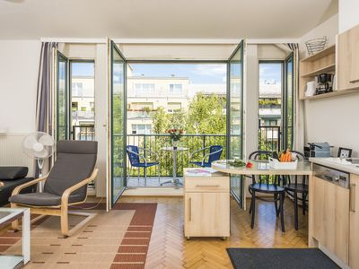 Photo for cozy apartment with balcony in quiet location
