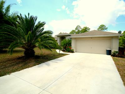 Photo for Introducing Butterfly Sanctuary! A 3 Bedroom 2 Bath Home Villa in Lehigh Acres