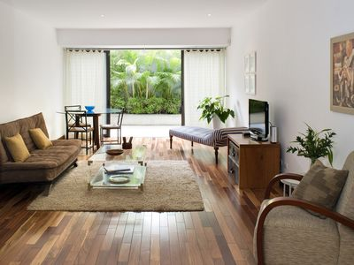 Photo for Comfortable one bedroom apartment with terrace in the best area of Miraflores.