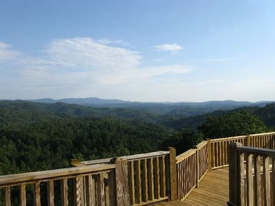 The View from the Summit's Deck