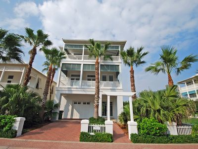 Photo for Astounding 4 Bedroom 4 Bath Beach House Within The Shores; Beautiful views of the ocean and the bay!